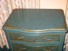custom painted chinoiserie chest
