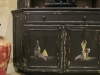 Italian style  hand painted cabinet