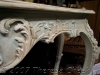 french console table done in ime washes and paint