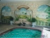 indoor pool mural