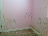little girl\'s  first bedroom, pretty in pink
