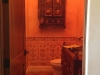 Moroccan style powder room